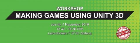 Workshop Unity 3D oleh Tim PPK STIKI Malang
